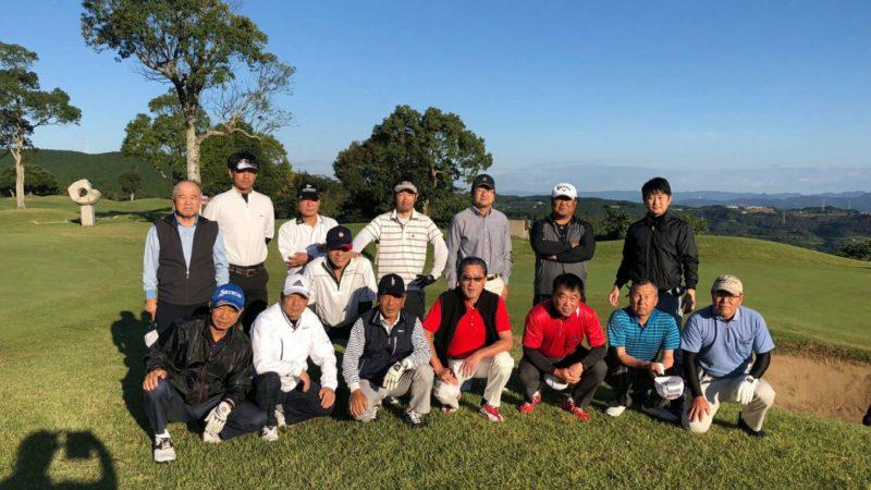 第13回川内会ゴルフコンペ開催
