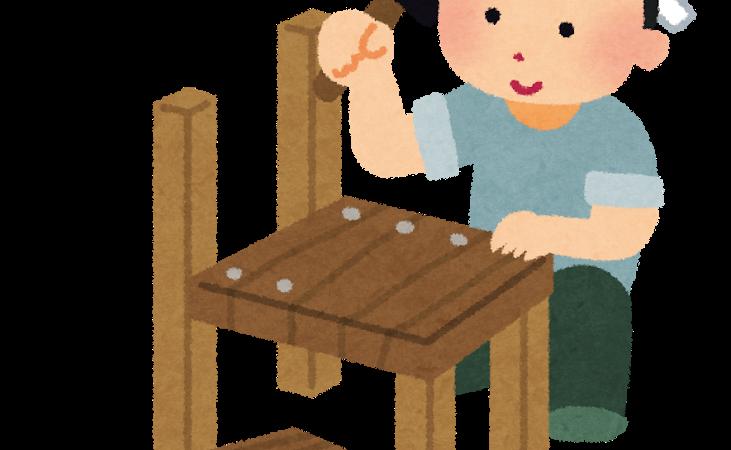 親子木工教室☆